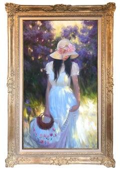 Oil Painting, Portrait, Maria Boohityarova 'Summer '