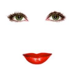 """""""Liz"""" (White) Elizabeth Taylor Pop Art Fashion Portrait Photograph"""