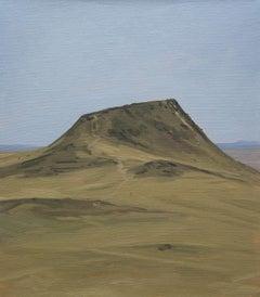 Dead Volcano, oil on linen beach landscape painting by Will Gabaldon
