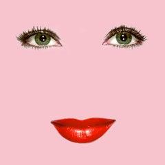 """Liz"" (Pink) Elizabeth Taylor Pop Art Fashion Portrait Photo"