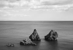 Landscape Costa Amalfitana, Ocean, Contemporary Art, Photography,Black and white