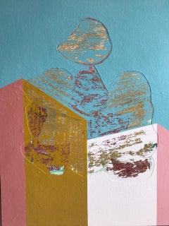Breaking a Window, Contemporary Art, Abstract Painting, 21st Century