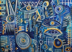 Bacalar, Contemporary Art, Abstract Painting, 21st Century