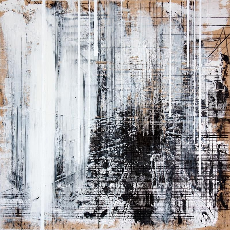 Industrial 10 , Contemporary Art, Abstract Painting, 21st Century