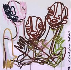 Memories III , Contemporary Art, Abstract Painting, 21st Century