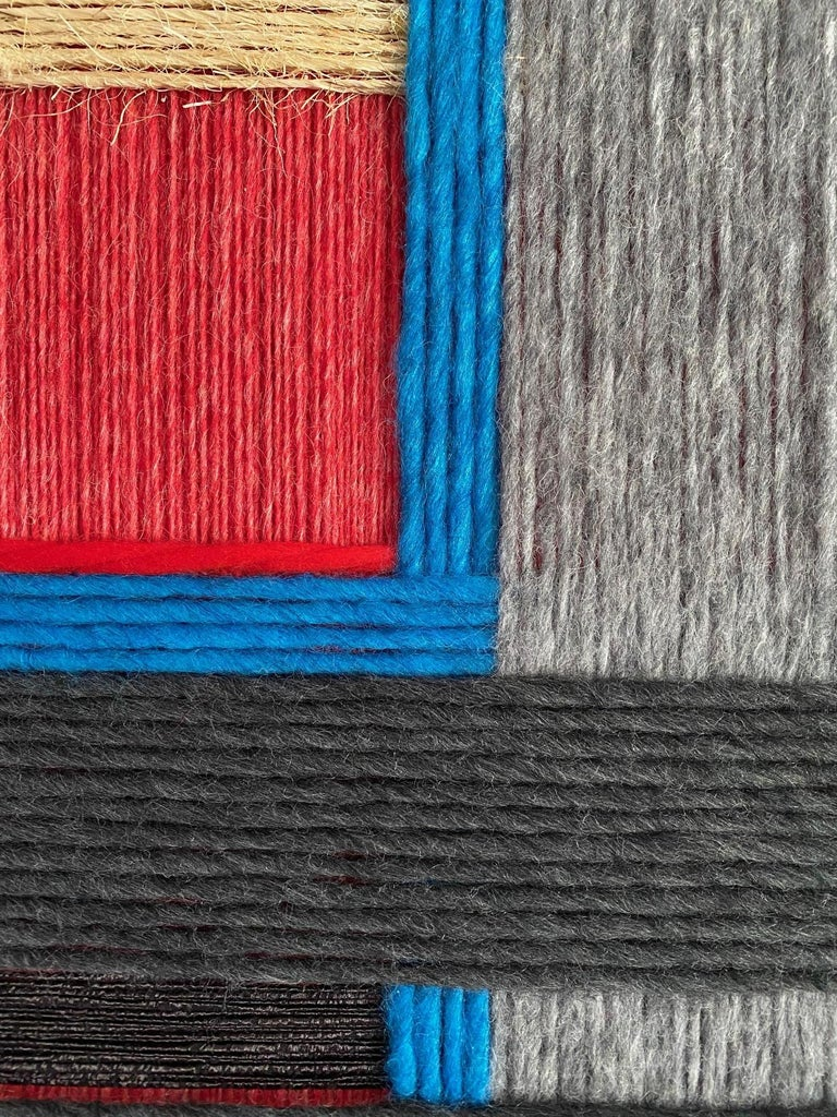 Layer upon layer Series, Contemporary Art, Textile, 21st Century For Sale 1