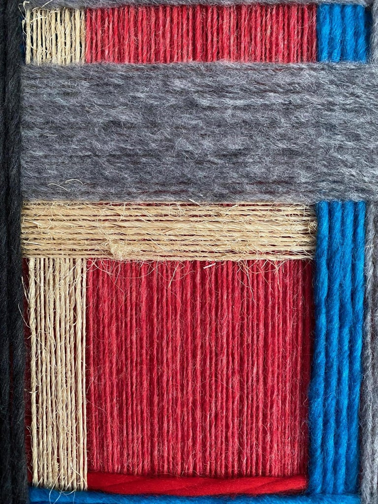 Layer upon layer Series, Contemporary Art, Textile, 21st Century For Sale 3