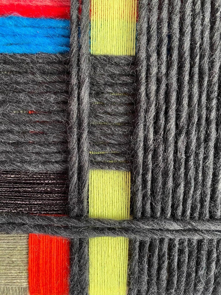 Layer upon layer Series, Contemporary Art, Textile, 21st Century For Sale 2