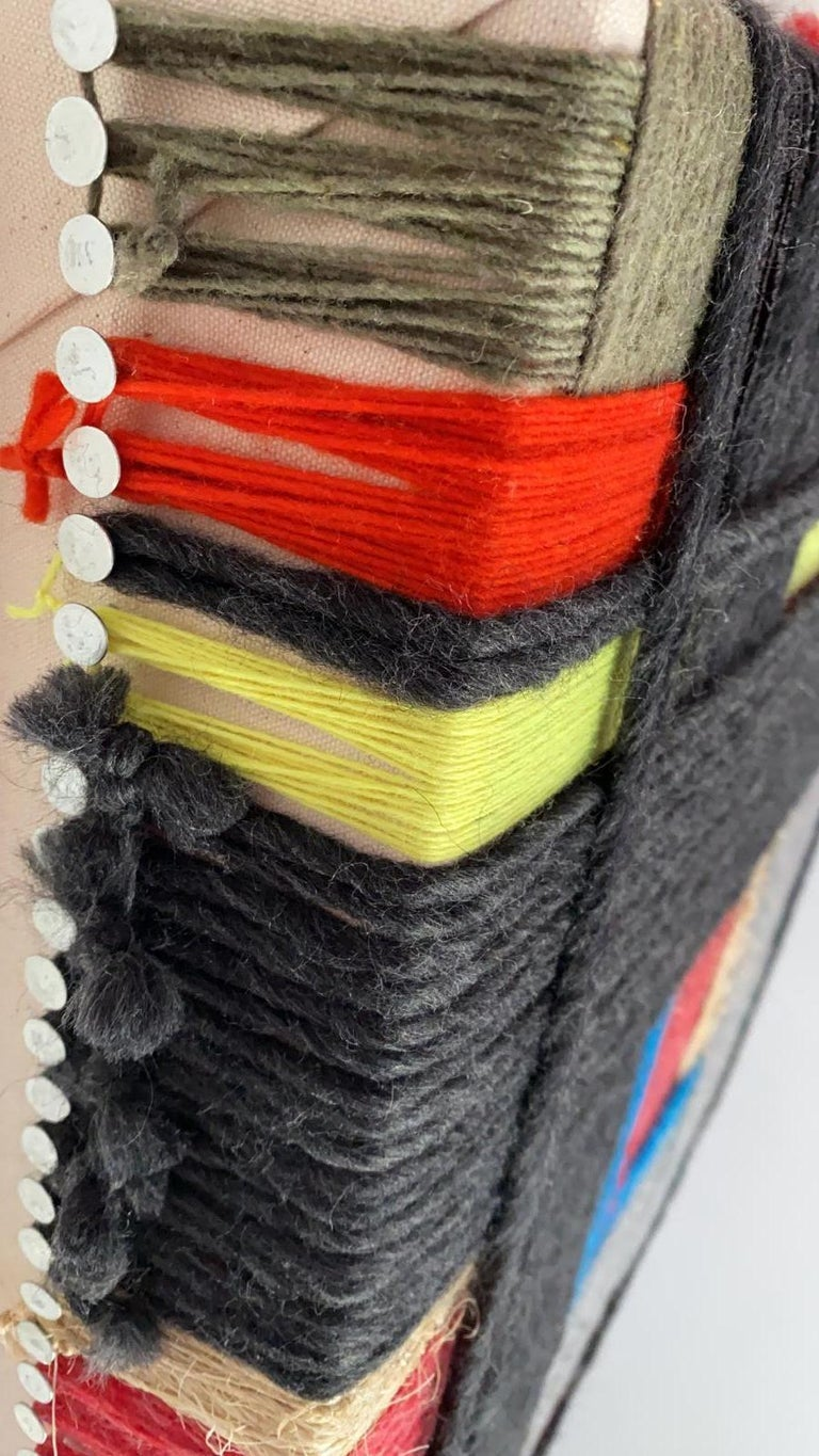 Layer upon layer Series, Contemporary Art, Textile, 21st Century For Sale 5