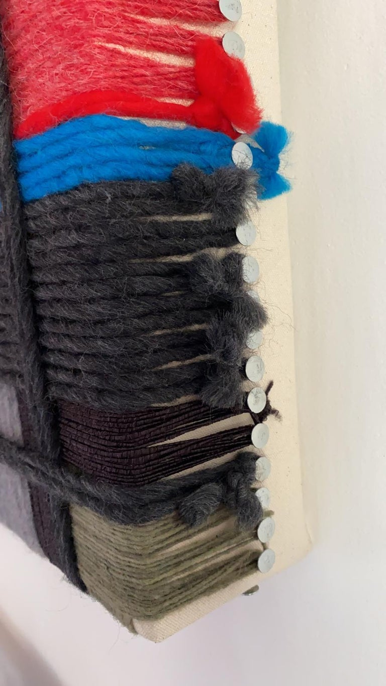 Layer upon layer Series, Contemporary Art, Textile, 21st Century For Sale 4
