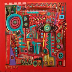 Hybrid, Contemporary Art, Abstract Painting, 21st Century