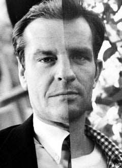 Jack Nicholson + Jack Kerouac, Contemporary Art, Photography, 21st Century