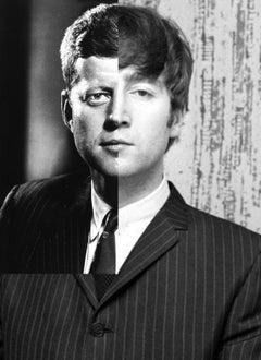 John Kennedy + John Lennon, Contemporary Art, Photography, 21st Century