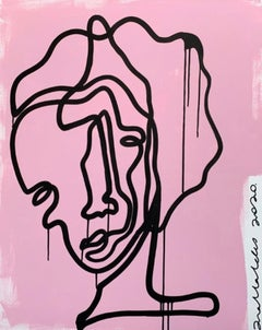 Woman 1, Contemporary Art, Abstract Painting, 21st Century