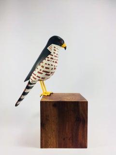 Sharp-shinned Hawk, Contemporary Art, Sustainable Art, Reclaimed Wood