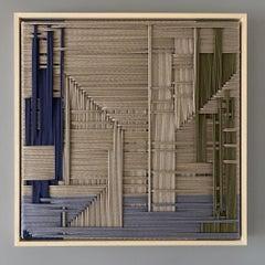 Figurative Tan, Contemporary Art, Textile Art, 21st Century
