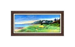Richard Chiriani Large Original Painting Alkyd On Canvas Signed Landscape Art