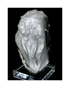 Frederick Hart Breath of Life Acrylic Sculpture Signed Nude Figurative Artwork