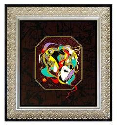 Martiros Manoukian Original Acrylic Painting On Board Signed Authentic Framed