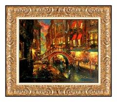 James Coleman Giclee on Canvas Signed Evening Falls Disney Art