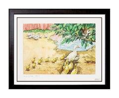 Gouache Animal Paintings