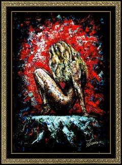 Trevor Mezak Original  Giclee on Canvas Signed Large One In A Million