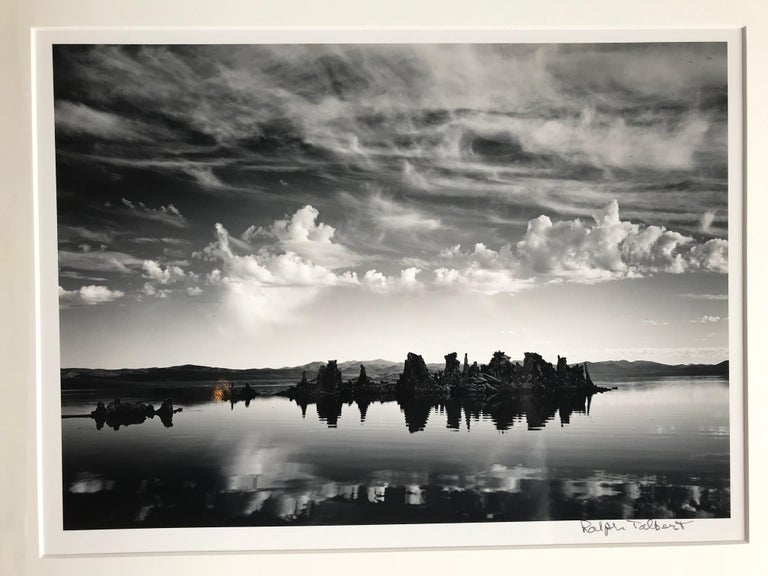 Ralph Talbert Black and White Photograph - Mono Lake Sunrise