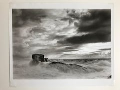 Numina, Etherial Coastal Photograph Black & White Silver Gelatin Large Format