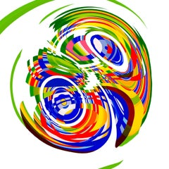 Jelcoba_ Spiral Deconstructed _5, 24 x 24, 1/ 200 ed. (unframed)