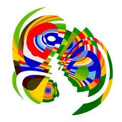 Jelcoba_ Spiral Deconstructed _12, 24 x 24, 1/ 200 ed. (unframed)