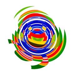 Jelcoba_ Spiral Deconstructed _13, 24 x 24, 1/ 200 ed. (unframed)