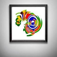 Jelcoba_ Spiral Deconstructed _15, 24 x 24, 1/ 200 ed. (unframed)