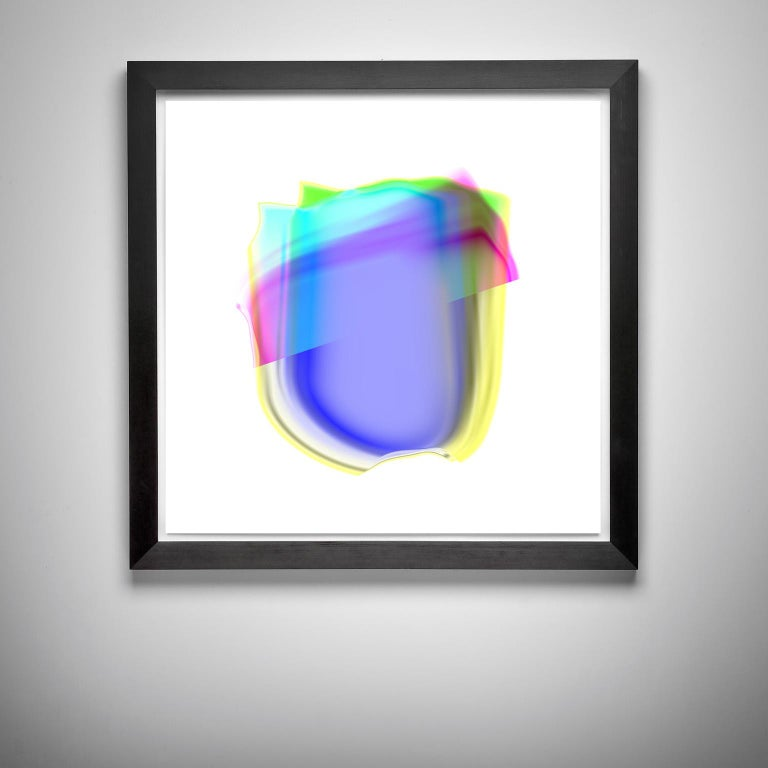 Cell's Pastel_2, 30 x 30, 1/ 100 ed. - Print by RIOUX