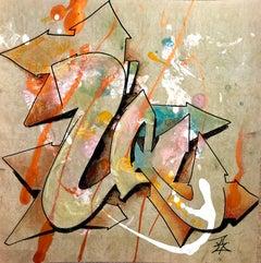 "Kelography Letters (Graffiti ""U"" Urban Graphic) / Limited ed. 25"