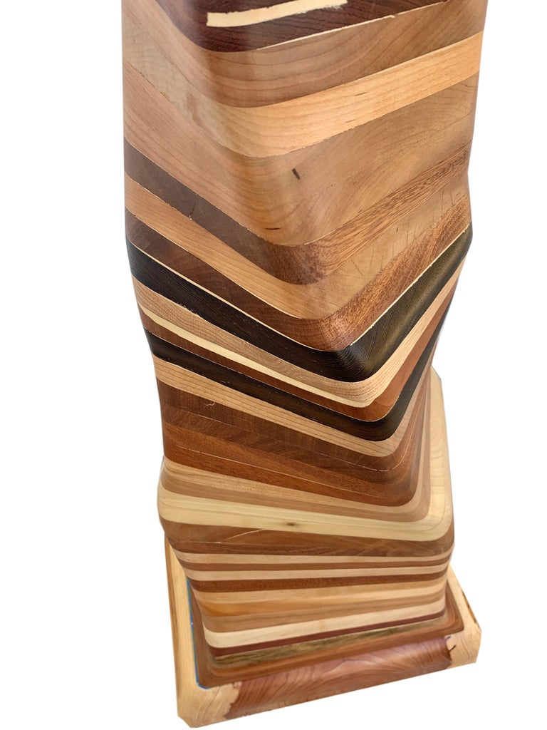 Undulating Wood Sculpture, Untitled 2019 For Sale 2
