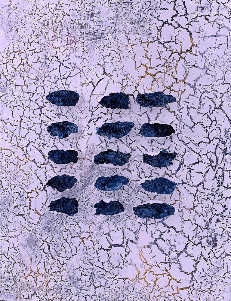 Kathleen Kane-Murrell Abstract Painting - Sweet Spot