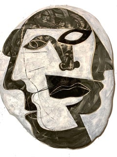 Cubist Ceramic Plate