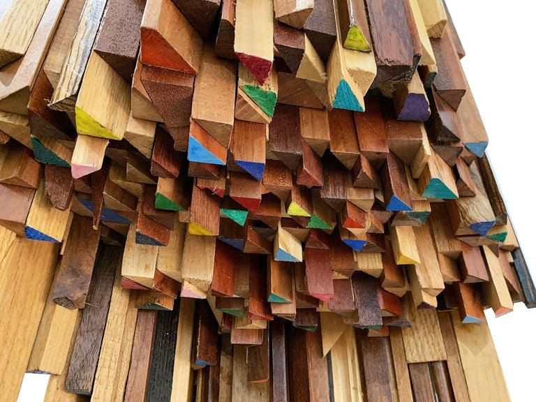 Corner Sculptural Shelf by Ben Darby - Sculpture by Ben Darby