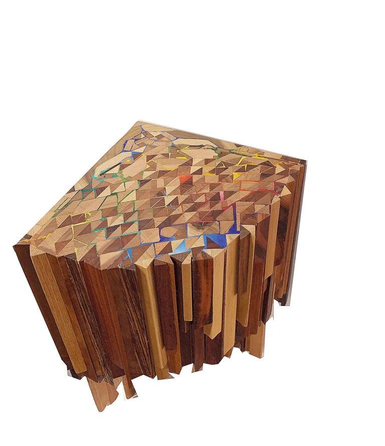 Corner Sculptural Shelf by Ben Darby For Sale 2