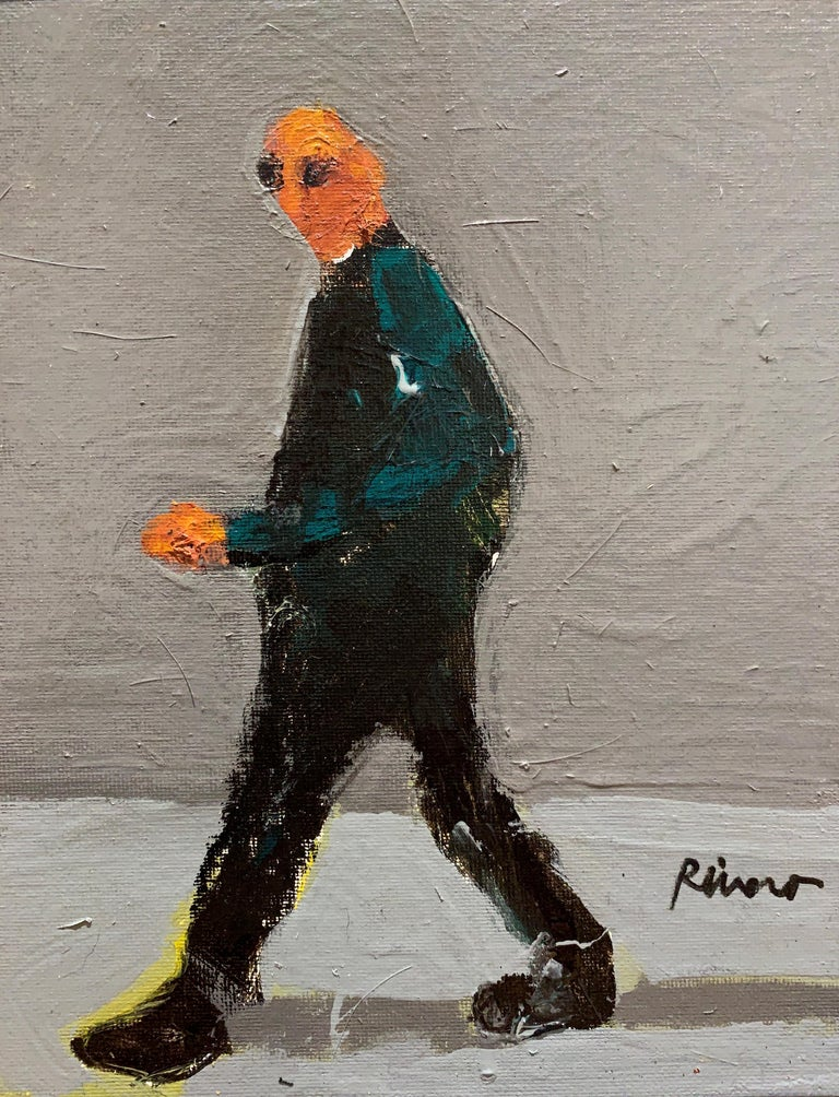 Mike Rivero Untitled Walking Figure On Gray For Sale At 1stdibs Michael rivero (mike rivero) thursday 3/30/17: 1stdibs