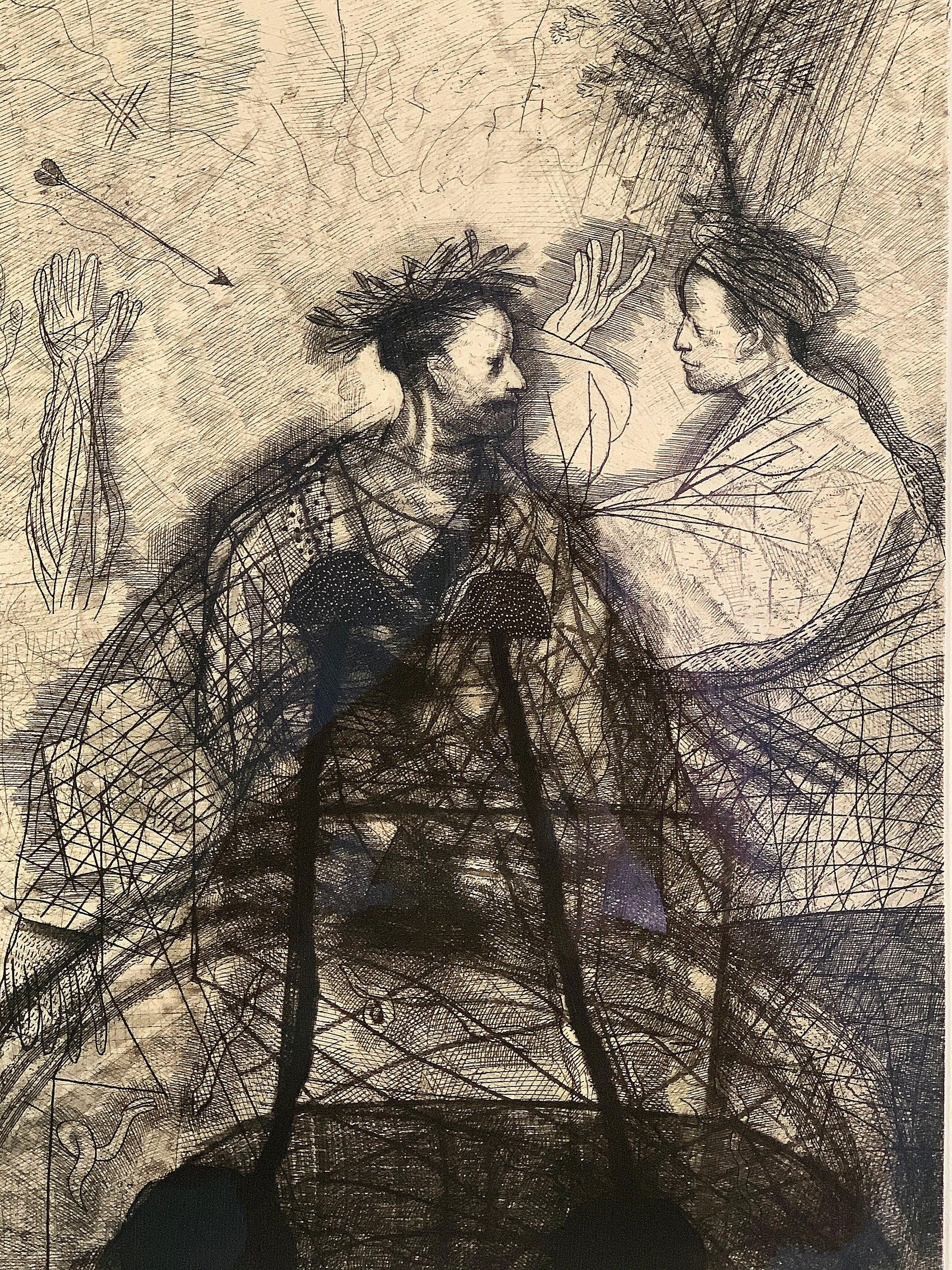 Untitled Figurative by Miguel Conde, No. 102/150