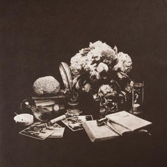 Vanitas (Sokrates), handprinted lithograph on Japanese paper, edition of 3