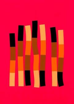 Strands, Silkscreen,  2019, edition of 8, unframed