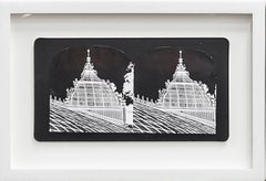Ruin Gazing, No:003, Spires, San Francisco, framed stereoscopic cards