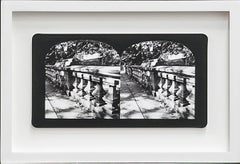 Ruin Gazing, No: 010 Bridge in Central Park, stereoscopic card