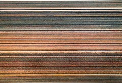 """""""For Tomorrow, Full Bleed Series"""" Stacked magazines striped geometric close ups"""