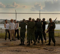 """""""Border Patrol"""" Photographs relevantly referencing Goya, Manet and Caravaggio"""
