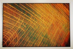 """Stoneybrook Township< Otter Tail Co, MN"" Zig Zag across the golden field"
