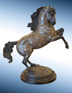 "Bronze Horse Sculpture, ""Mare of the Renaissance"""