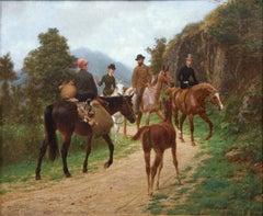 19th Century, Equestrian, Horseback Riding